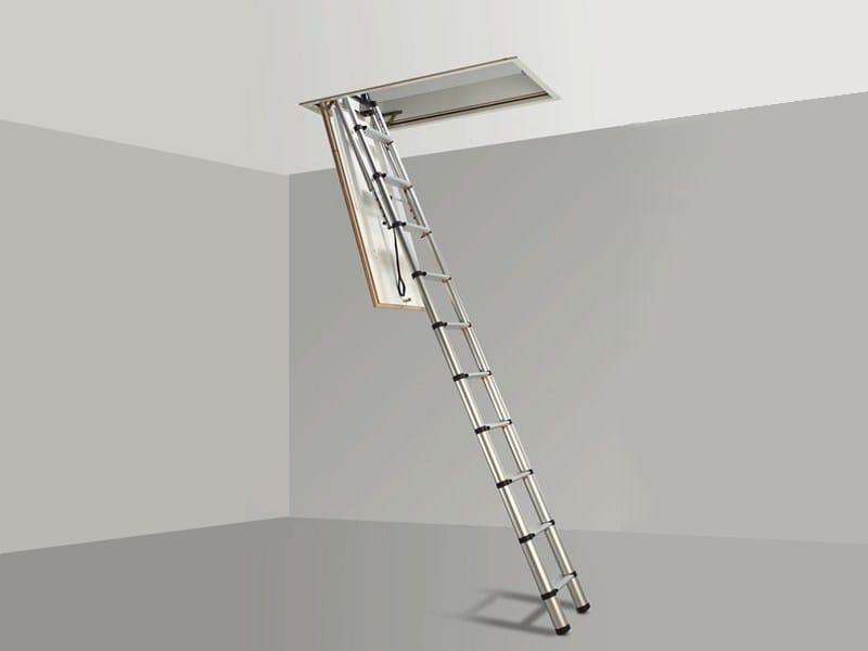 gradini a scomparsa verticali : Scale Retrattili A Parete In Legno : Scala retrattile per soffitti ...