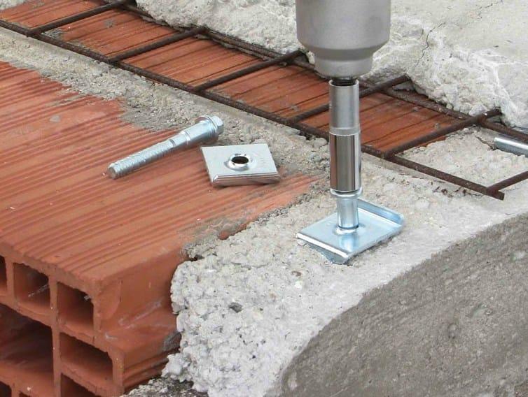 Floor slab connector CTCEM - TECNARIA