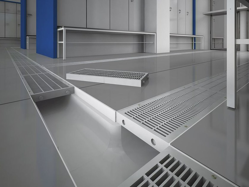 Modular gutters and metallic gratings