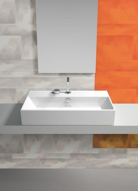 Countertop rectangular washbasin PREMIUM 70 | Washbasin - CERAMICA CATALANO