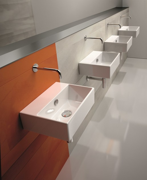 Contemporary style ceramic washbasin PREMIUM 40 | Washbasin - CERAMICA CATALANO