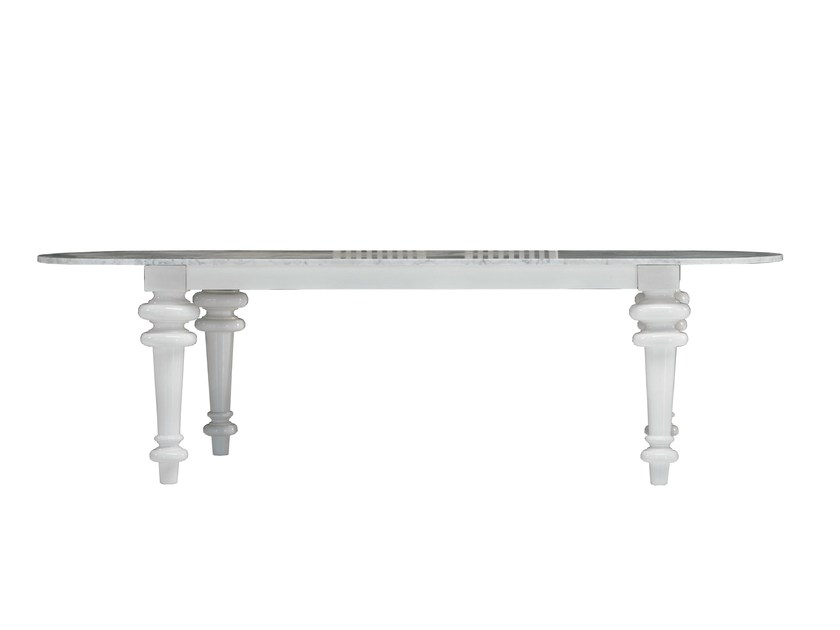 Oval dining table GRAY 37 - Gervasoni