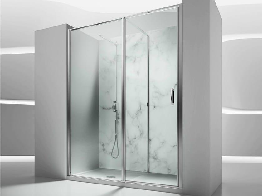 Niche tempered glass shower cabin IN 1 - VISMARAVETRO