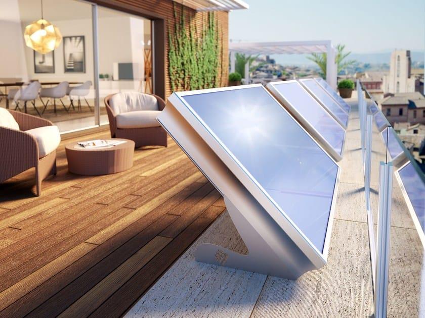 Pannello Solare Termico Orizzontale : Pannello solare sistema stratos cordivari