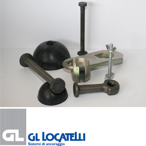 Lifting anchors for concrete elements GL-ANCHOR - AdermaLocatelli Group