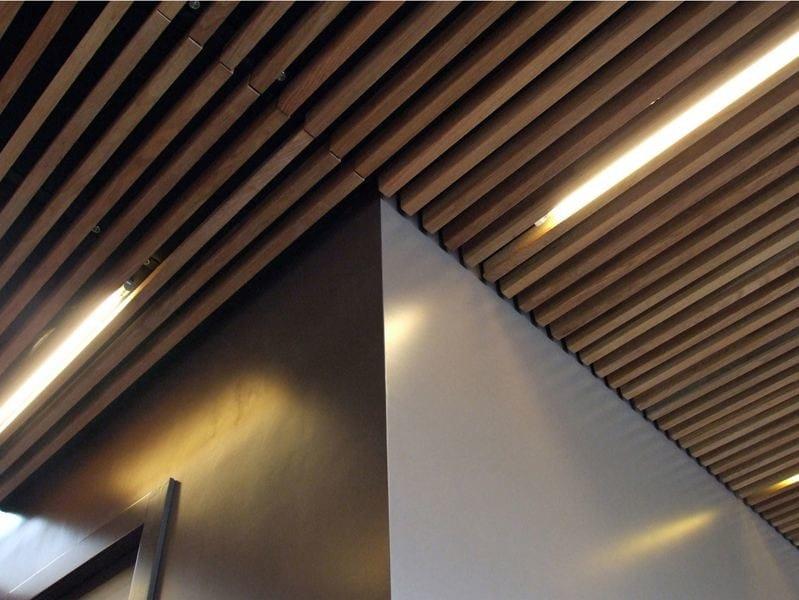 Nodoo wooden ceiling by nodoo - Wood slat ceiling system ...