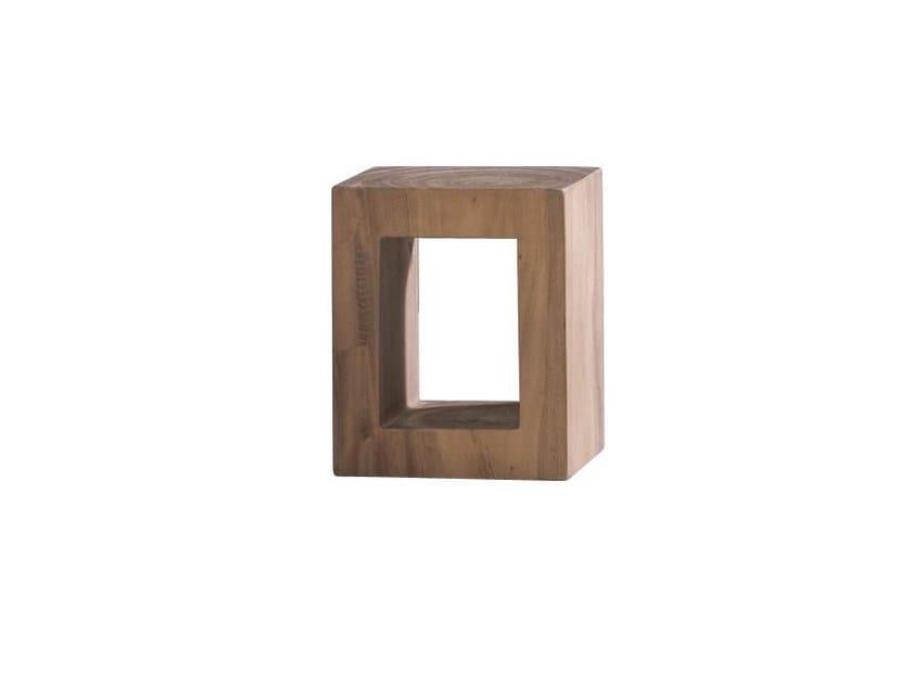 Low wooden coffee table BRICK 41 - Gervasoni