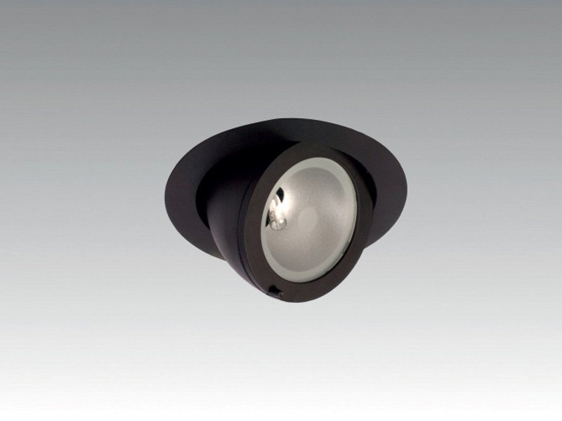 Adjustable ceiling recessed spotlight IN-OUT - Orbit