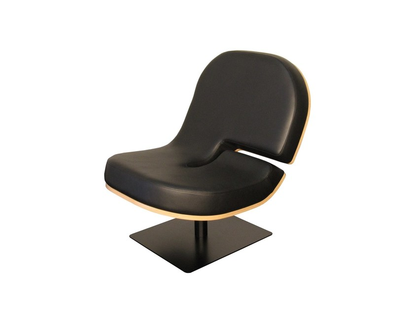 Upholstered easy chair TYPOGRAPHIA G by TABISSO