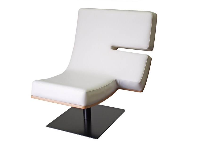Upholstered easy chair TYPOGRAPHIA F - TABISSO