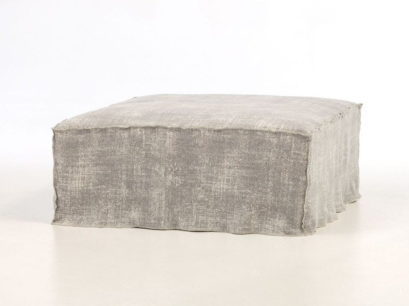 Pouf with removable lining BRICK 08 by Gervasoni