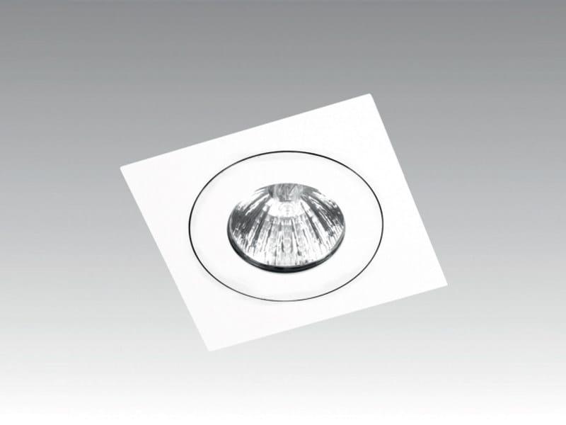 Ceiling recessed spotlight DUO SQUARE - Orbit