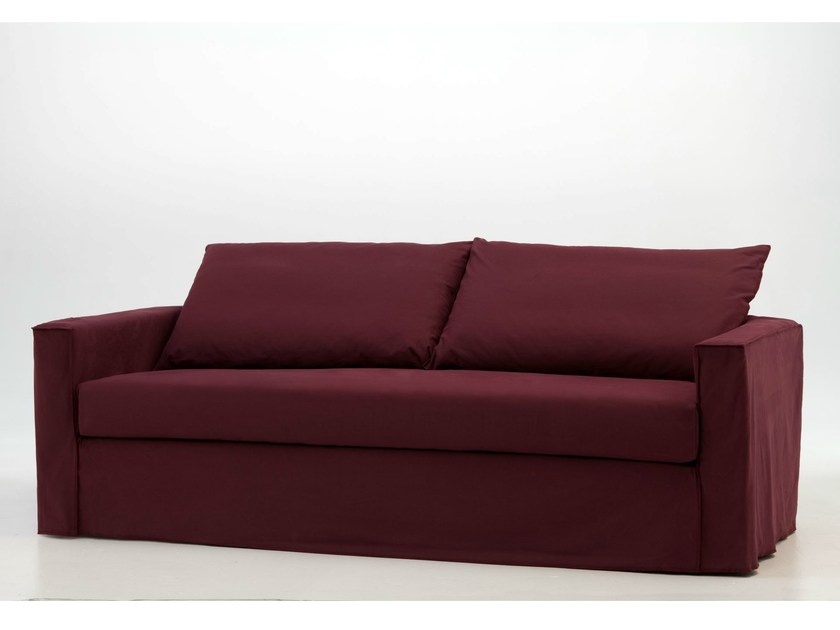 Sofa bed with removable cover BRICK 13 15 - Gervasoni