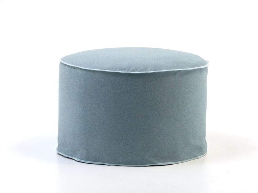 Pouf with removable lining BRICK 18 19 by Gervasoni