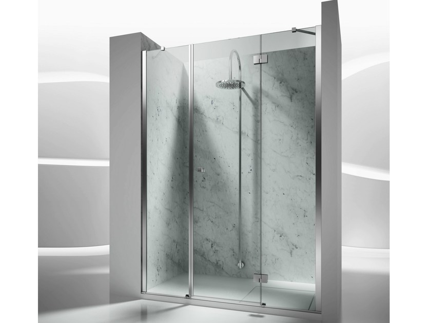 Niche custom tempered glass shower cabin SINTESI SM - VISMARAVETRO