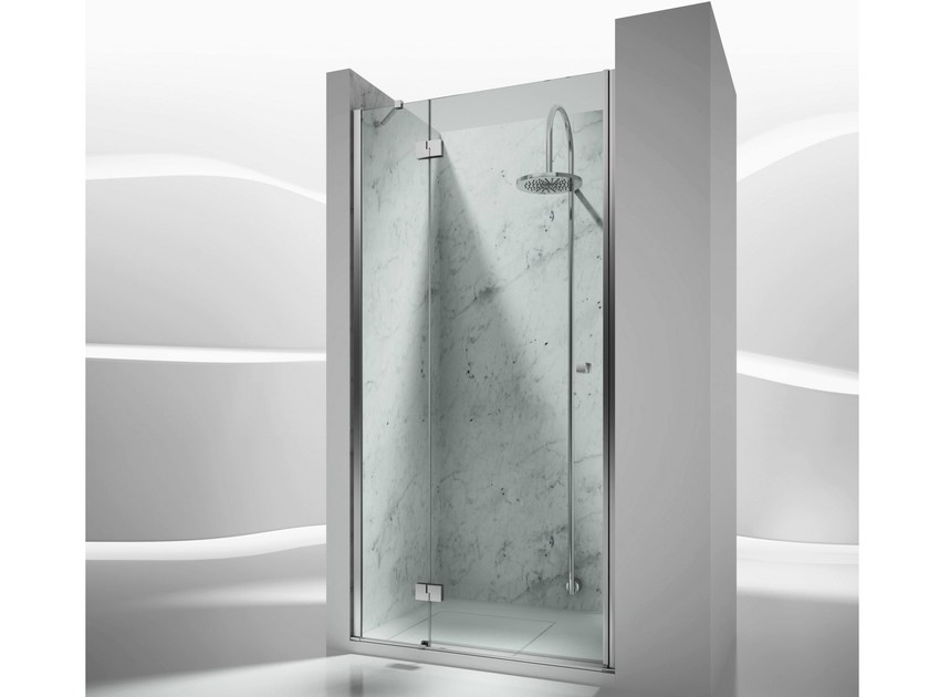 Niche custom tempered glass shower cabin SINTESI SN - VISMARAVETRO