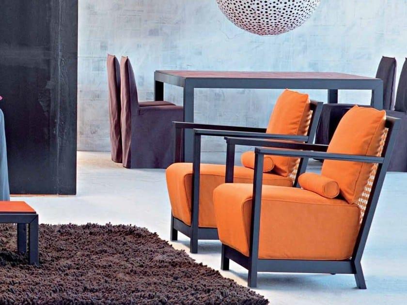 Armchair with armrests OTTO 111 - Gervasoni