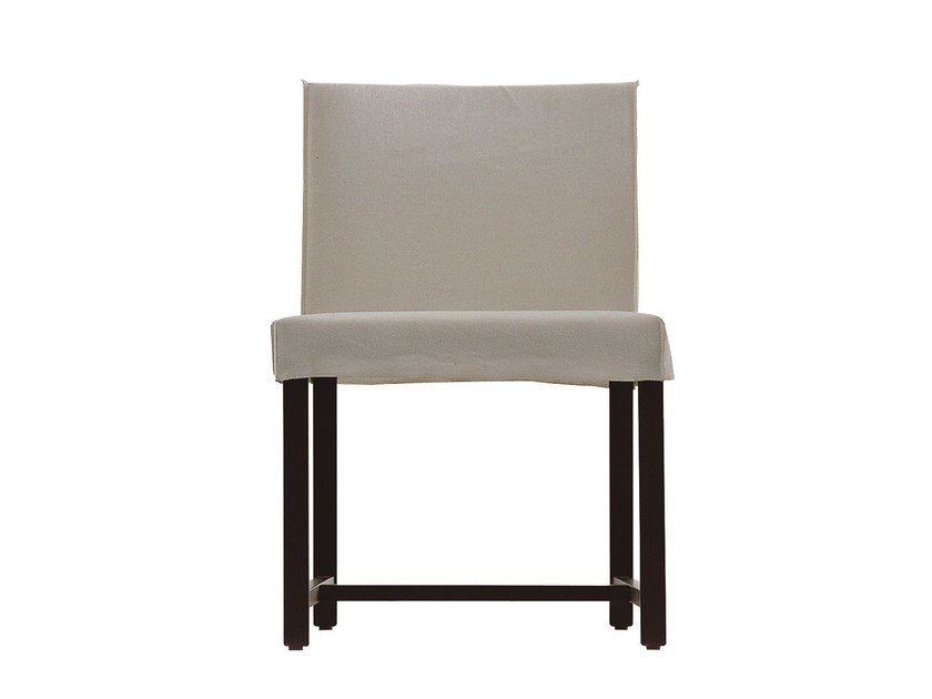 Chair with removable cover OTTO 125 - Gervasoni