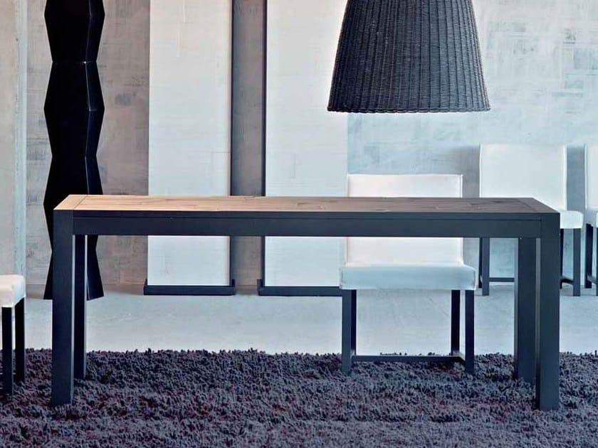 rechteckiger esstisch otto 138 by gervasoni design paola navone. Black Bedroom Furniture Sets. Home Design Ideas