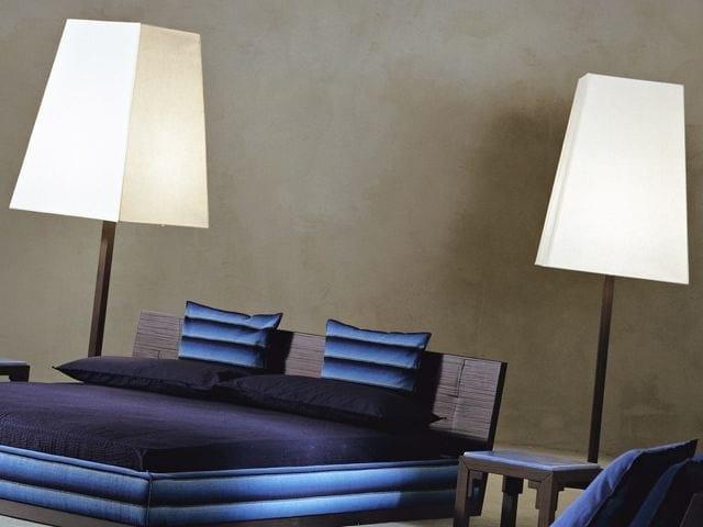 Walnut floor lamp OTTO 193 - Gervasoni