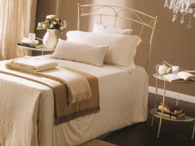 Classic style iron single bed DORA | Iron bed by Bontempi Casa