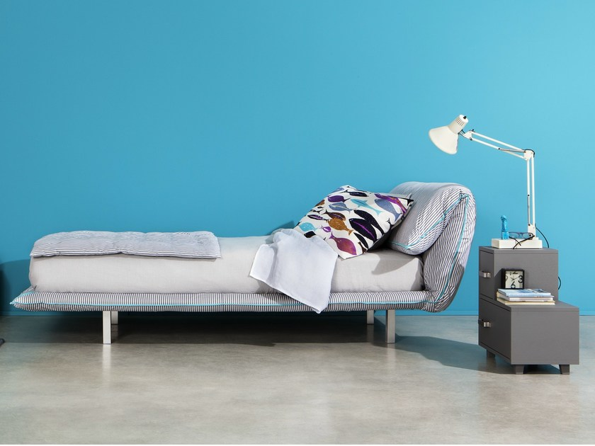 Single bed with removable cover TV | Single bed - Letti&Co.