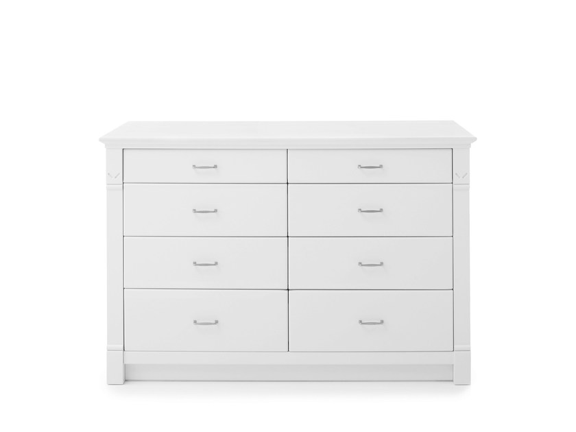 Solid wood chest of drawers NEWPORT | Wooden chest of drawers - Minacciolo