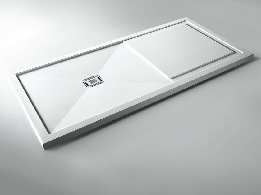 Rectangular Cristalplant® shower tray KRISTAL by VISMARAVETRO
