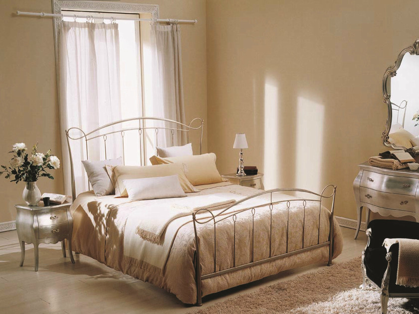 Iron double bed GINEVRA by Bontempi Casa
