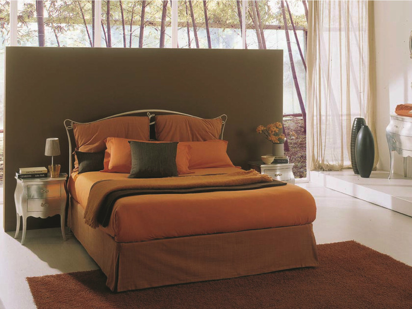 Iron bed TRIZIA | Double bed by Bontempi Casa