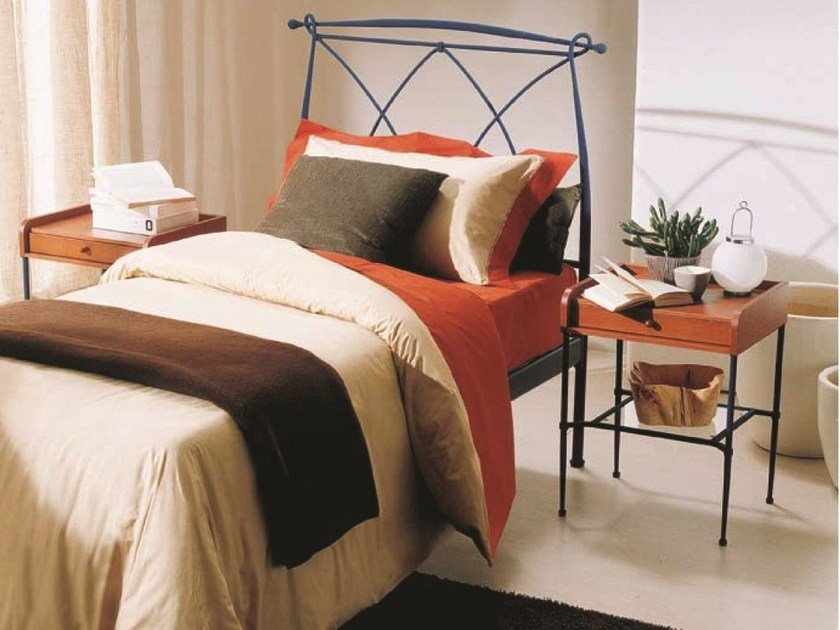 Classic style single bed MANON | Iron bed by Bontempi Casa