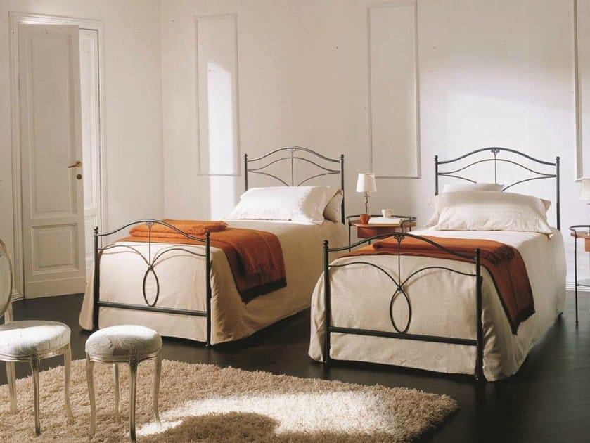 Iron single bed MERLINO - Bontempi Casa