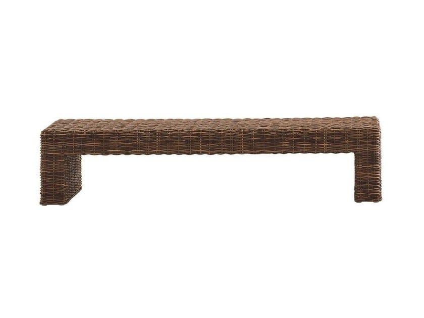 Low rectangular coffee table CROCO 12 - Gervasoni
