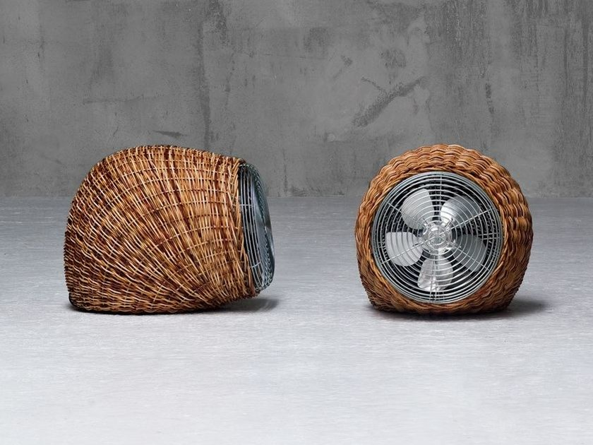 Pulut rattan table fan WIND S - Gervasoni