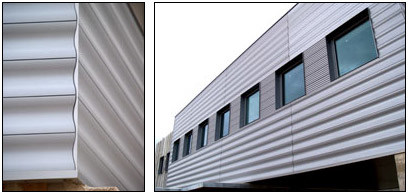 Pannelli di alluminio per facciate