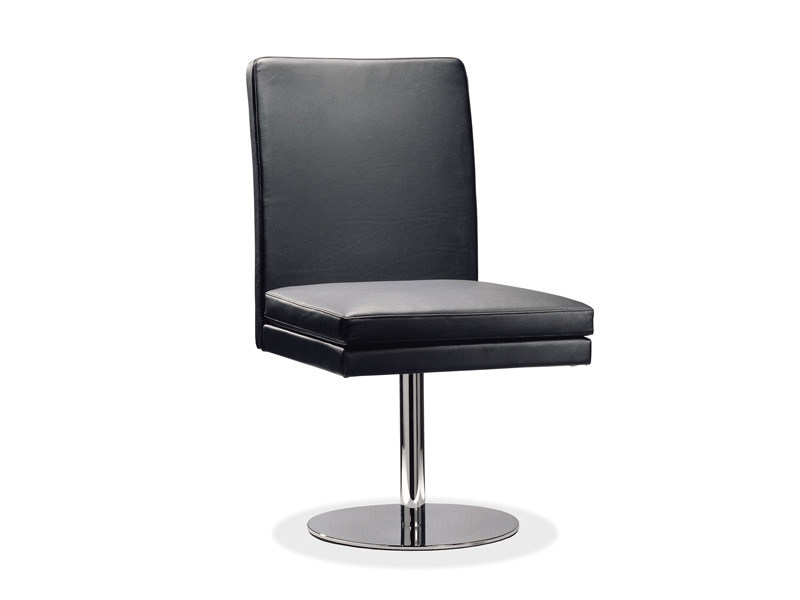 Swivel upholstered leather chair D13-33 | Swivel chair - Hülsta-Werke Hüls