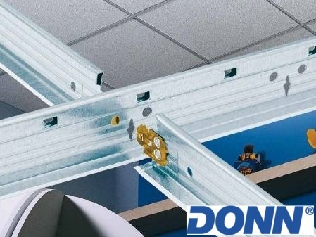 Frame and accessory for suspended ceiling DONN - Knauf AMF Italia Controsoffitti