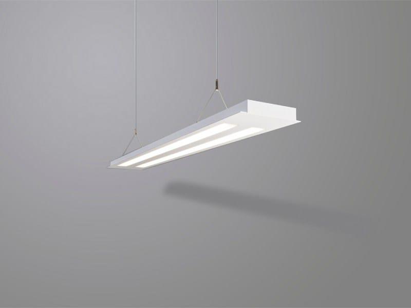 Direct-indirect light pendant lamp PLANOS 2x - Orbit