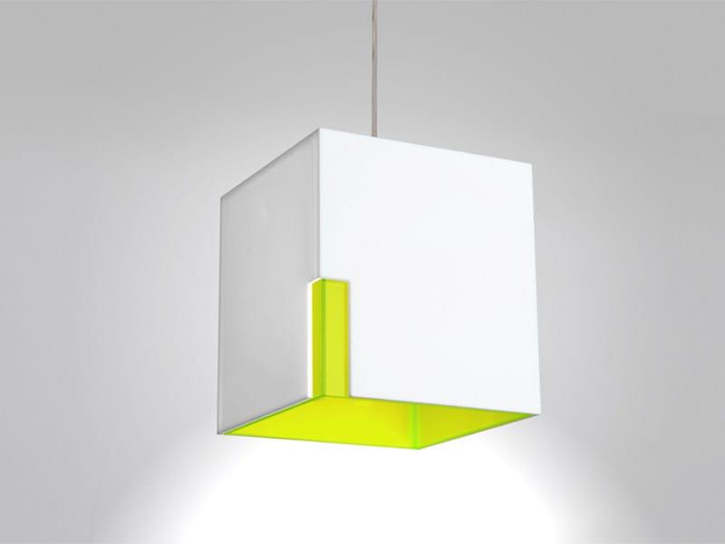 PMMA pendant lamp PIO by Orbit