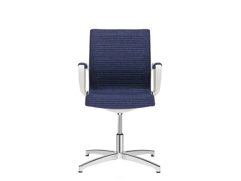 Chair with 4-spoke base with armrests SOUL | Chair with 4-spoke base - SitLand