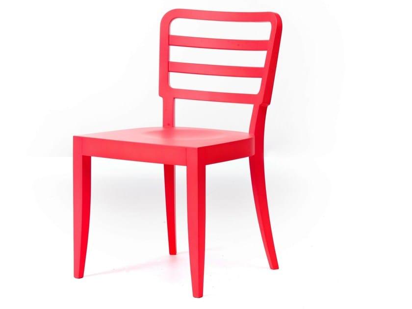 Open back wooden chair WIENER 11/L - Very Wood