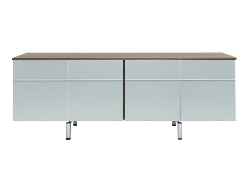 Cabinet With Movable Internal Shelf Shine By De Padova