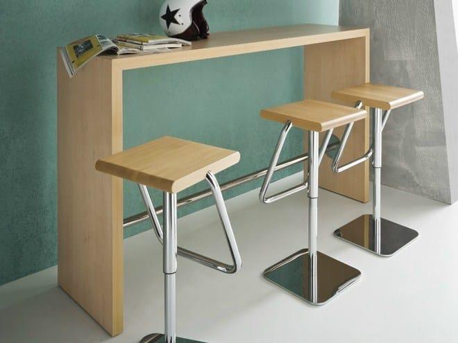Rectangular laminate high table BREAK by GABER