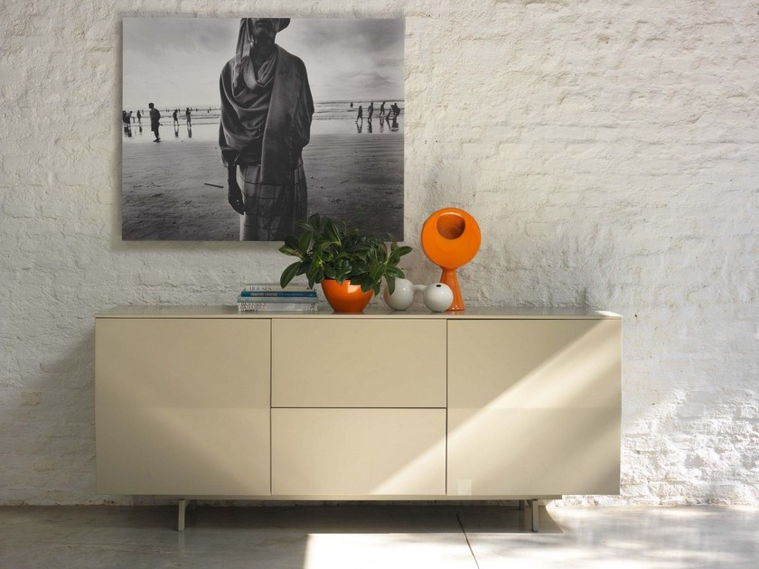 Wooden sideboard AMSTERDAM - Bontempi Casa