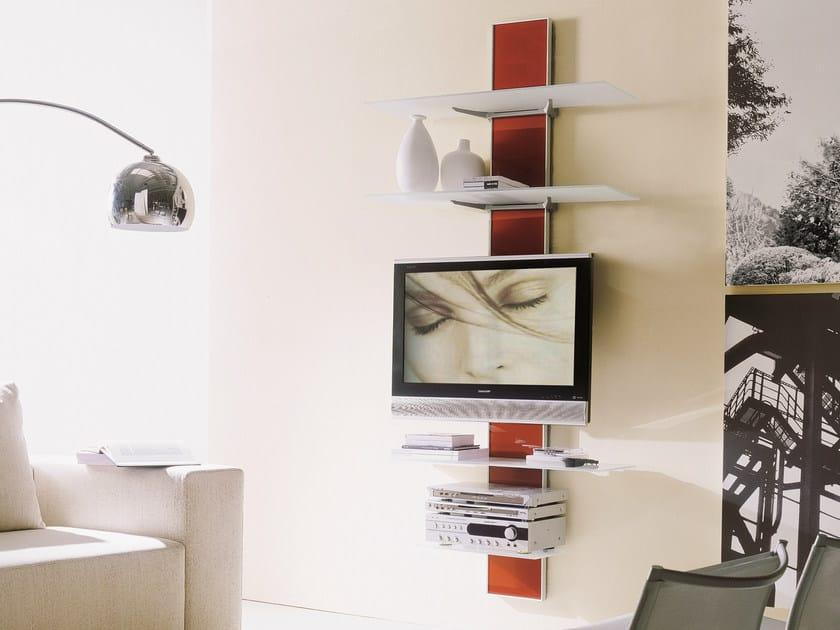 Supporto per monitor tv in alluminio da parete voil - Supporto tv da parete ...