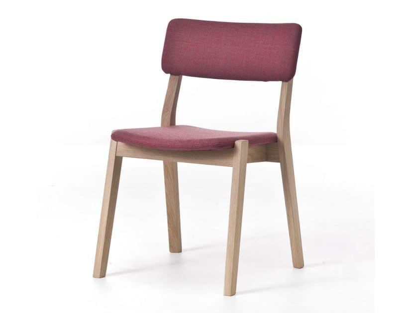 Wooden restaurant chair FRAME 01 - Very Wood