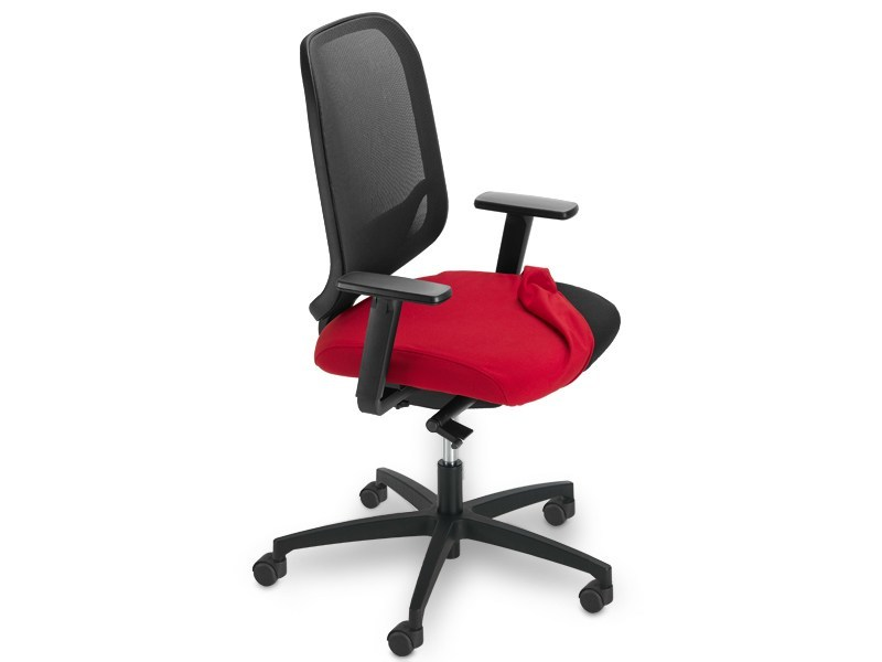 Task chair with 5-Spoke base with armrests INVICTA POINT | Task chair by SitLand