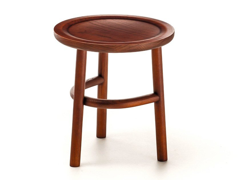 Round wooden coffee table UNAM T02 - Very Wood