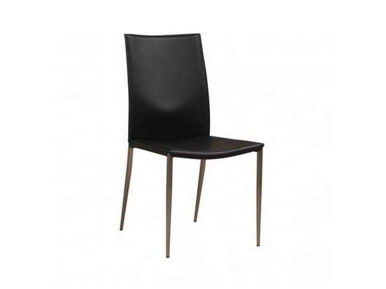 Leather chair EDEN - GAUTIER FRANCE