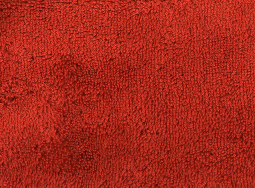 Solid-color terry fabric BARDOT - KOHRO